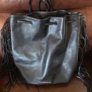 Victoria Secrets fringe backpack